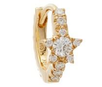 Star Eternity Diamond & 18kt Gold Single Earring