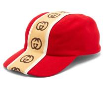 Gg-jacquard Wool-felt Cap