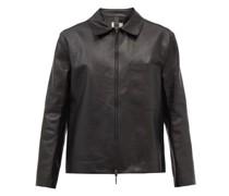 Rafi Patch-pocket Leather Jacket