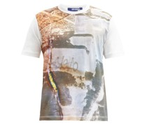 X Stephen Gill & Will Self Cotton-jersey T-shirt