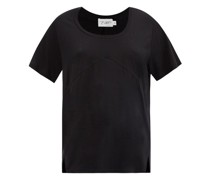 Blanche Panelled Jersey T-shirt