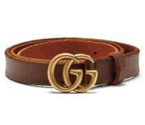 Gg-logo 2cm Leather Belt