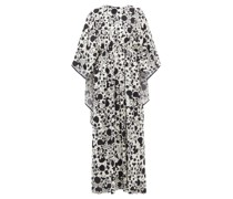 Circe Himsez-print Maxi Kaftan Dress