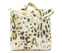 Tec Medium Leopard-print Padded Tote Bag