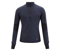 Trail Breaker Panelled-jersey Track Top