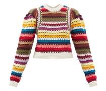 Ziggy Striped Crotchet Sweater