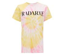 Radarte-print Tie-dye Jersey T-shirt