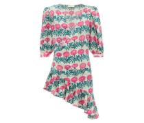 Flore Floral-print Silk-crepe Dress