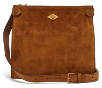 Stowaway Suede Cross-body Bag