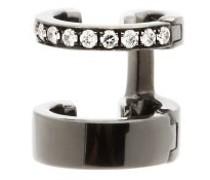 Berbere Diamond & 18kt Black-gold Ear Cuff