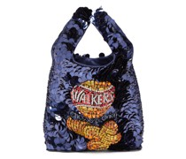 Walkers Sequinned Recycled-satin Tote Bag