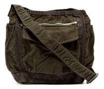 Crag Crinkled-canvas Shoulder Bag