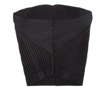 Technical-pleated Snood