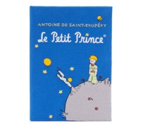 Le Petit Prince Embroidered Book Clutch Bag