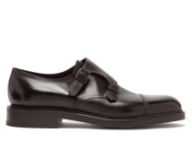 William Monk Strap Leather Shoes