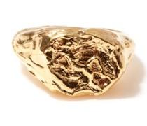 Virgo 24kt Gold-plated Zodiac Ring