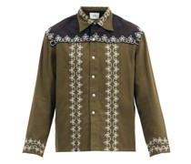 Fellows Embroidered Cotton Jacket