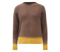 Telemaco Gradient-jacquard Wool-blend Sweater