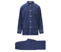 Balmoral Brushed-cotton Pyjama Set