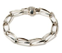 Sterling-silver Chain-link Bracelet