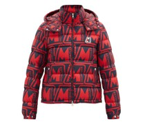 Frioland Logo-print Quilted Down Hooded Jacket