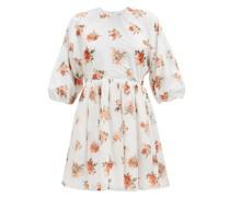 Molly Floral-print Cotton-poplin Dress