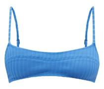 The Elsa Ribbed Bikini Top