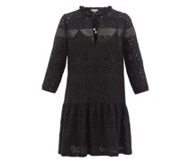 Broderie-anglaise Cotton Mini Dress
