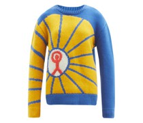 Prayers For Young People Abstract Cashmere Sweater