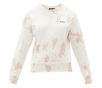 Rick Tie-dye Cotton-jersey Sweatshirt