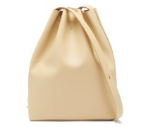 Marin Drawstring Leather Shoulder Bag
