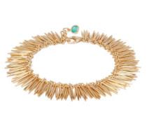 Grass Leaves 18kt Gold Bracelet