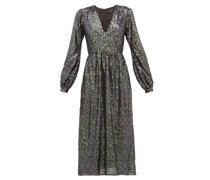 Camille Sequinned Midi Dress