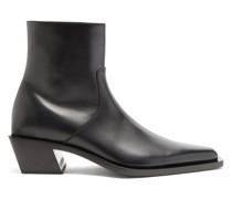 Tiaga Block-heel Leather Boots