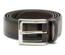 Distressed-leather Belt