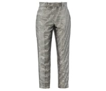 Aries Cropped Moire-lamé Trousers