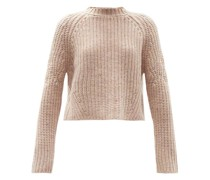 Sophie Rib-knitted Cashmere Sweater