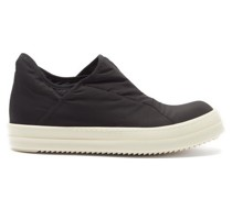 Bumber Padded Cotton-shell Trainers