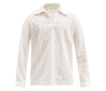 Mate Embroidered Cotton Shirt