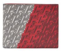 Cl-monogram Print Leather Wallet