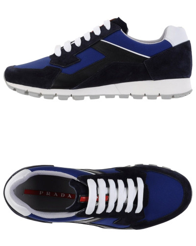 prada herren low sneakers tennisschuhe prada sport 13. Black Bedroom Furniture Sets. Home Design Ideas