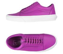 UA OLD SKOOL - NEON LEATHER Low Sneakers
