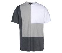 DOUBLE CORNER TEE DARK GREY T-shirts