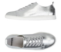 NYC METALLIC LEATHER Low Sneakers & Tennisschuhe