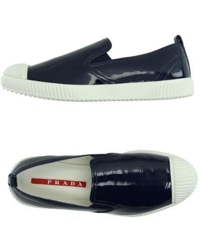 prada damen low sneakers tennisschuhe reduziert. Black Bedroom Furniture Sets. Home Design Ideas