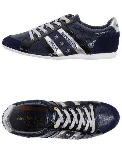 pantofola d oro damen low sneakers tennisschuhe pantofola d 39 oro 34 reduziert. Black Bedroom Furniture Sets. Home Design Ideas