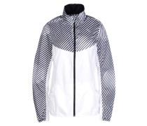 513752-Graphic Woven Jacket W Jacke