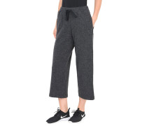 BOILED WOOL CROPPED PANTS Caprihose
