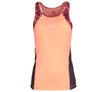 Cat blocked tank Tank Top