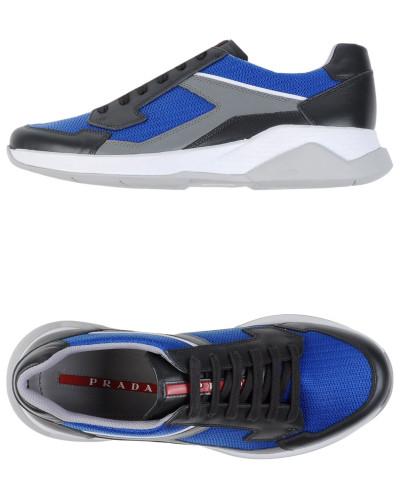prada herren low sneakers tennisschuhe prada sport 12 reduziert. Black Bedroom Furniture Sets. Home Design Ideas